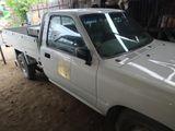 Toyota Hilux, white 1995