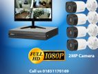 Dahua 4 Unit Full HD 2MP 1080P CC Camera Package 1 Year Warranty