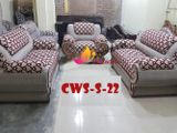 CWS-S-22 2+2+1= 5 টি আসনের সোফা সেট)