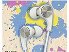 REMAX RM-569 WIRED MUSIC EARPHONE WITH WARRANTY