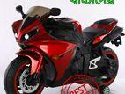 Original Painting colour children's R15 motorcycle