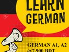 IELTS and German A1, A2 Course