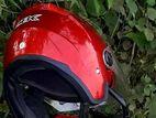 Helmet red colour