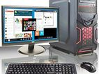 """🔴কমদামের সেরা 1000GB নতুন Core i3 / 8GB গ্রাফিক্স PC সাথে 19"""" LED"""
