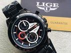 Lige men's chronograph watch