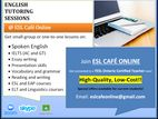 Online English Lessons - IELTS, Spoken English, and Courses