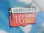 16 GB SAMSUNG memory card