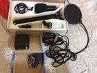 BM-800 Condenser microphone With Full Studio Set Up