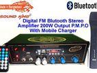 DIGITAL ECHO STEREO AMPLIFIER 200W
