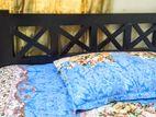 Semi double bed / Mehogoni wood