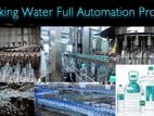 Full Automatic Small Bottle Water Production Plant. Capacity 72000BPH .