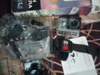 4k action camera+ remote