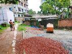 2 katha plot beside 10 ft wide Road at Badaldi