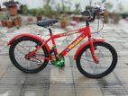 Meghna-Prince Kids Red Bicycle for sale.(URGENT)