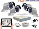 2MP Hikvision 4 Full HD CCTV Package | Us Trade International