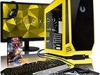 NEW গেমিং PC CORE- i5- 4th Gen} Giga 81+ LED 19''+HD 1000 -GB+8GB RAM