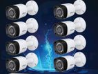 8PS CCTV CAMERA FULL PACKAGE