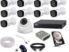 2Mega Full HD 10 DAHUA CCTV Package