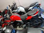 Yamaha Fazer red 2017