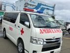 Toyota Hiace G.L AMBULANCE OFFER 2015