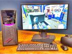"4th জেন 500GB Core i5 নতুন Desktop(পিসি)+20""LED GFX 8GB(AGP)"