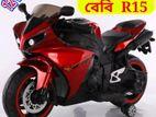 Children's comfortable electric riding R15 motorbike