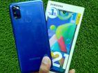 Samsung M21 (4/64) Full Box. (Used)