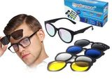 5 in 1 Sunglasses Set Magnetic Snap