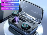 8D পাওয়ার ব্যাংক ব্লুটুথ-Wireless Earphone Touch Bluetooth
